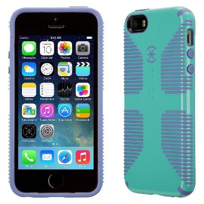 Speck CandyShell Grip Case for iPhone® 5 - Mykonos Blue/Wisteria Purple