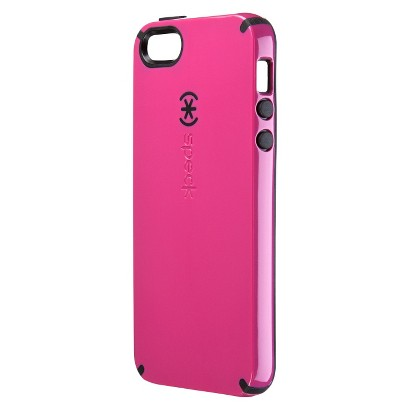 Speck CandyShell Case for iPhone® 5 - Raspberry Pink/Black
