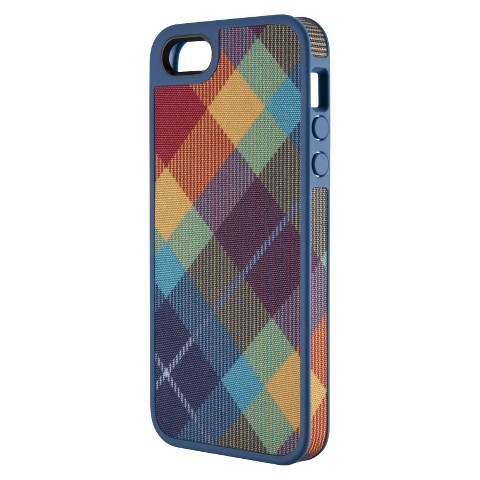 Speck FabShell Case for iPhone® 5 - MegaPlaid Spectrum
