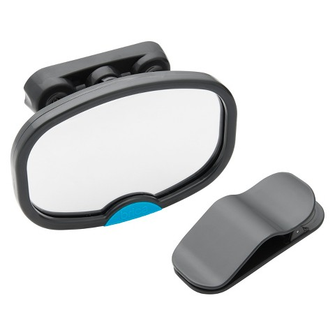 BRICA Deluxe Stay-in-Place™ Mirror for in Car Safety