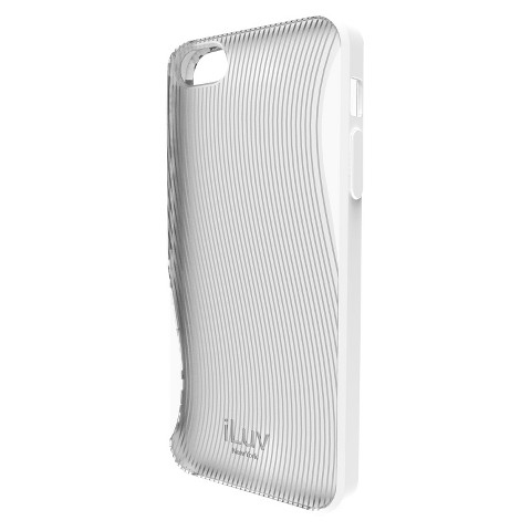 iLuv Twain l Two-Part Case for iPhone5 - White (ICA7H328WHT)