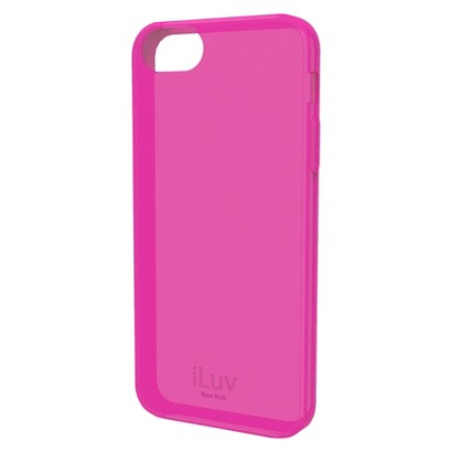 iLuv Gelato l Soft Case for iPhone 5/5s - Pink (ICA7T306PNK)