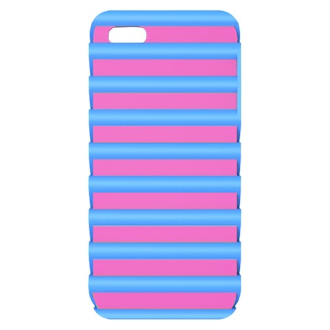 iLuv Pulse l Protection Case for iPhone5 - Blue/Pink