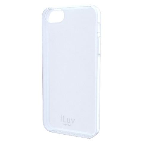 iLuv Gelato l Soft Case for iPhone5 - White (ICA7T306WHT)