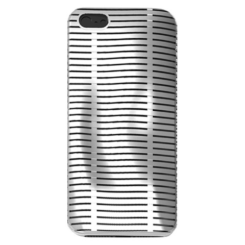 iLuv Topog l Protection Case for iPhone 5/5s - Silver (ICA7T324WHT)