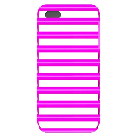 iLuv Pulse l Protection Case for iPhone 5/5s - Pink/White (ICA7T325PNK)