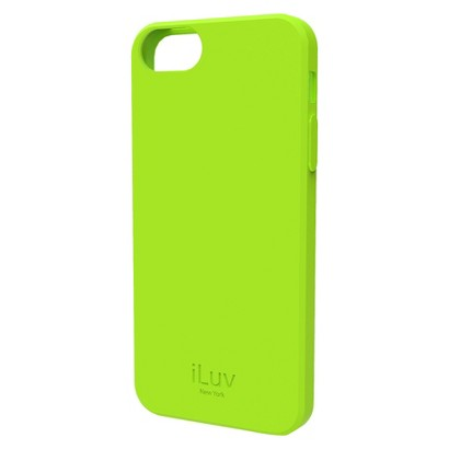 iLuv Gelato l Soft Case for iPhone 5/5s - Green (ICA7T306GRN)
