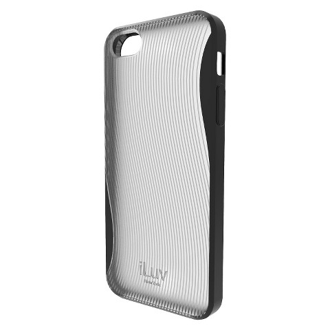 iLuv Twain l Two-Part Case for iPhone5 - Gray (ICA7H328BLK)