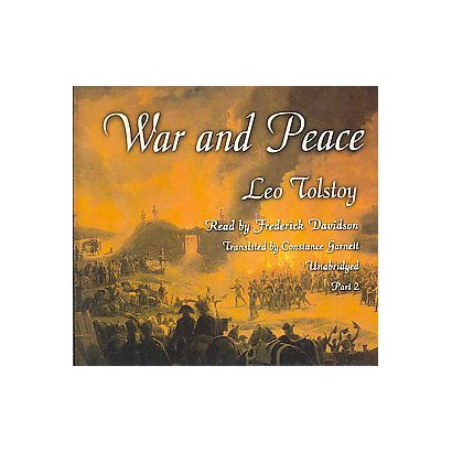 War and Peace (Unabridged) (Compact Disc)