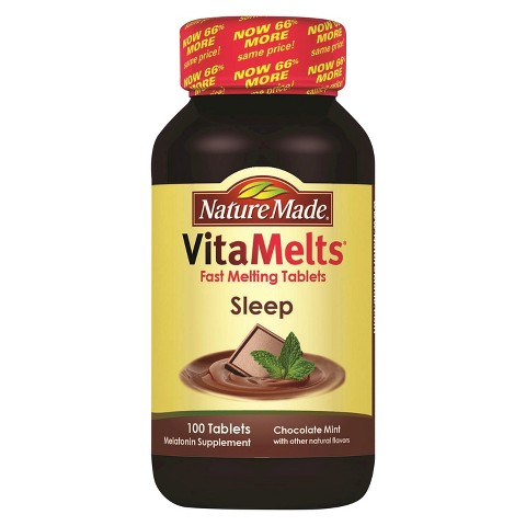 Nature Made VitaMelts® Chocolate Mint Sleep Tablets - 100 Count