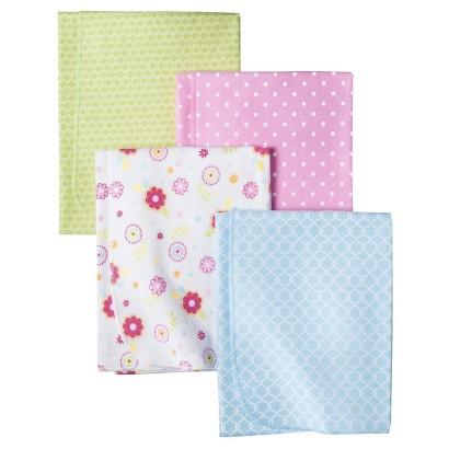 Circo® Woodland Wonders 4pk Receiving Blankets