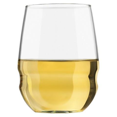 Libbey 12 Piece White Wine Stemless Passage Set