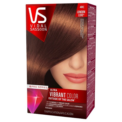 Vidal Sassoon Pro Series Salon Hair Color - Dark Copper Red (color 4RC)