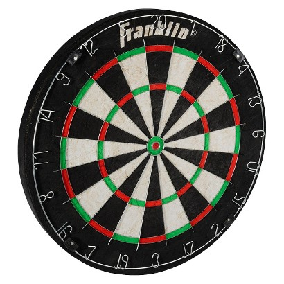 Franklin Bristle Dartboard with Steel Wires, Knife Edge Wire and no Darts