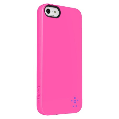 Belkin Dayglo Grip Neon Case for iPhone5 - Pink (F8W097ttC00)