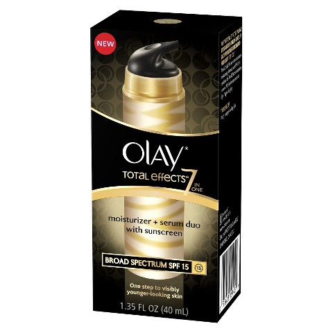 Olay Total Effects 7-in-One Moisturizer + Serum Duo with Broad Spectrum SPF 15 - 1.35 oz