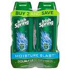 Irish Spring Moisture Blast Body Wash 15oz, Twin Pack
