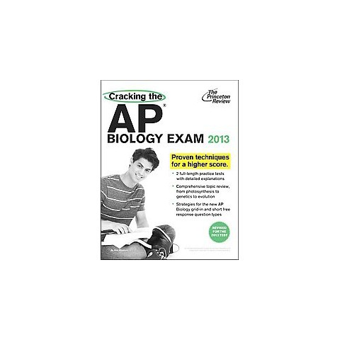 Cracking the AP Biology Exam 2013 (Revised) (Paperback)