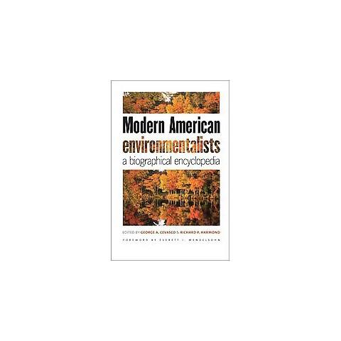 Modern American Environmentalists (Hardcover)