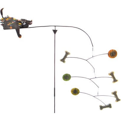 Spiky Dog Outdoor Kinetic Sculpture