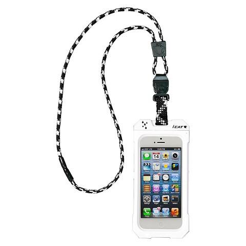 iCat Dri Cat Neck iT Waterproof Case and Lanyard for iPhone®5 - White (11060P-C4)