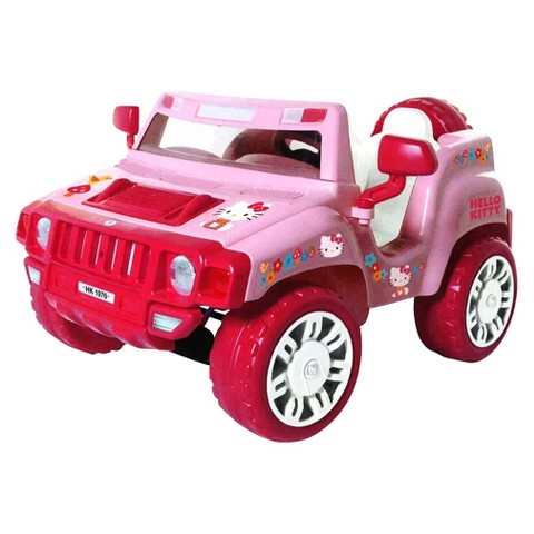 Hello Kitty SUV 6V Battery Powered Car