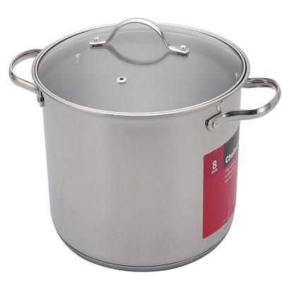CHEFMATE Silver 20QT S/S Stock Pot