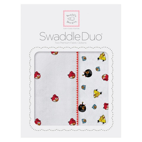 Angry Birds Swaddle Due