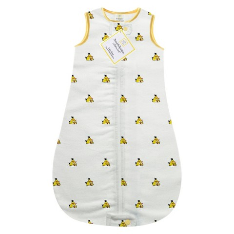 Swaddle Designs Angry Birds Baby zzZipMe Sack - Yellow Bird 3mo-6mo