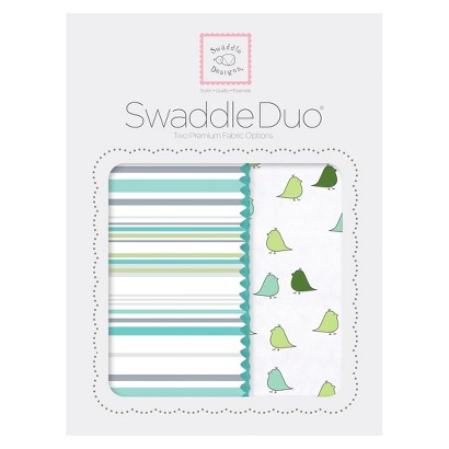 Stripes Swaddle Duo 2pk