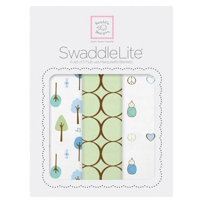 Ecom Swaddle Blanket SwaddleDesigns KIWI