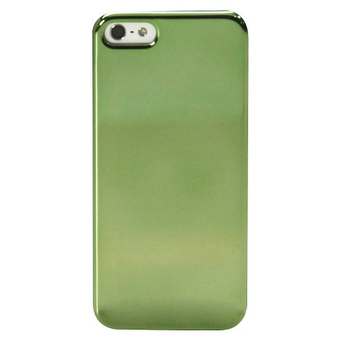 Mobilexpressions Metallic Olive Case for iPhone5 - Green (ME2006)