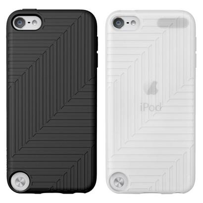 Belkin iPod Touch Flex Case - 2 Pack - Black/Clear (F8W142ttC00-2)
