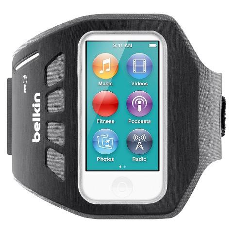 Belkin New iPod Nano Armband - Black (F8W216ttC00)