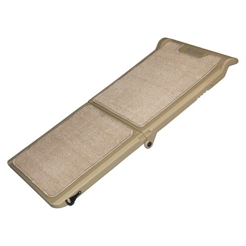 PET GEAR Tan Indoor Bi-Fold Half Ramp, Tan