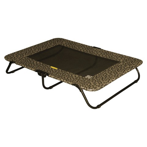 PetGear Designer Pet Cot - Tan Bone