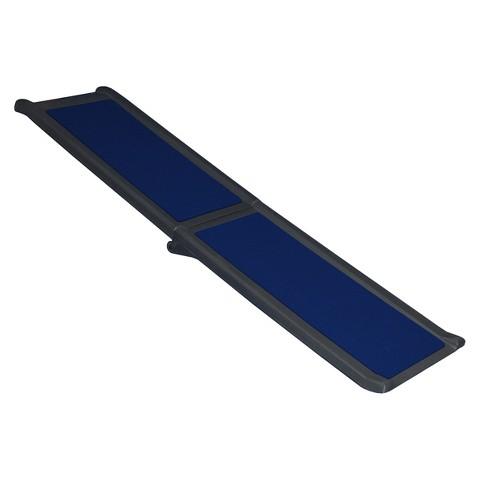 PetGear Black/Blue Travel Lite Bi-Fold Full Ramp
