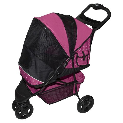 PET GEAR Raspberry Special Edition Pet Stroller