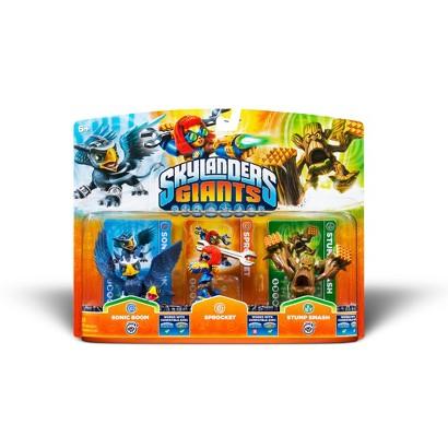 Skylanders Giants Triple Character Pack: Sonic Boom / Sprocket / Stump Smash