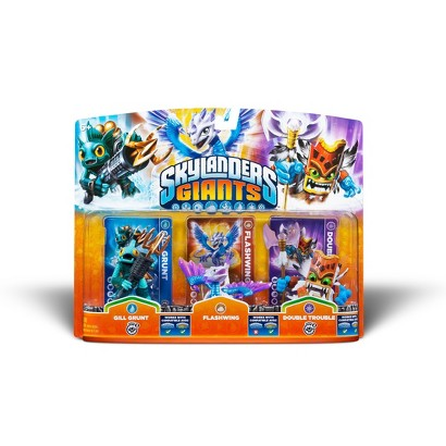Skylanders Giants Triple Character Pack: Gill Grunt / Flashwing / Double Trouble