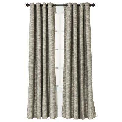 "Threshold™ Uptown Stripe Light Blocking Curtain Panel - Tan (54x84"")"