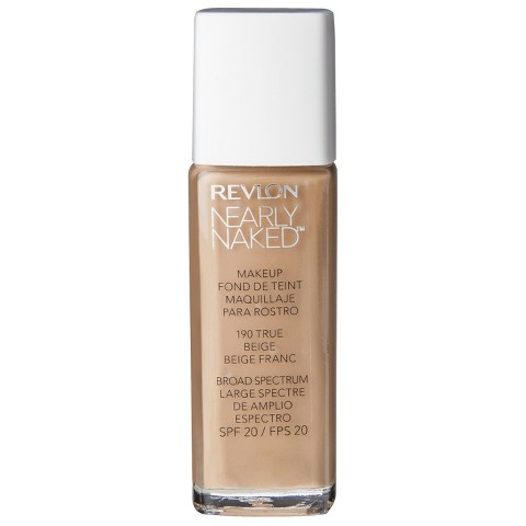 Revlon Nearly Naked Liquid Makeup