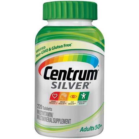 Centrum® Silver® Multivitamin Tablets For Adults