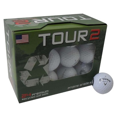 Callaway Mix Recycled Golf Balls- 24 pack