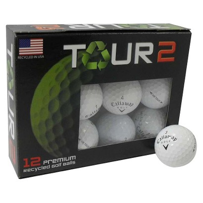 Callaway Tour Refinished Golf Balls- 12 pack