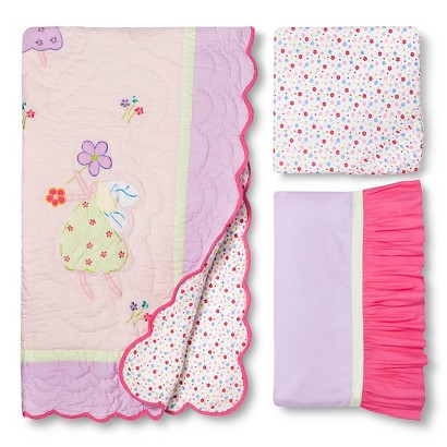Fairyland 3pc Crib Bedding Set by Bacati