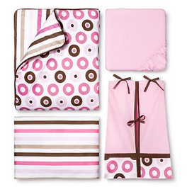 Bacati Dots/Stripes Bedding Collection