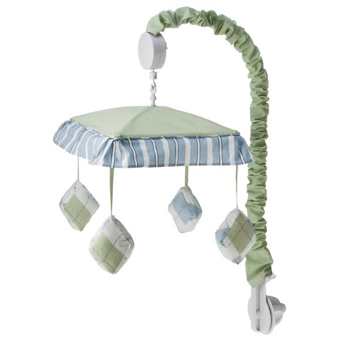 Sweet Jojo Designs Argyle Mobile - Green and  Blue