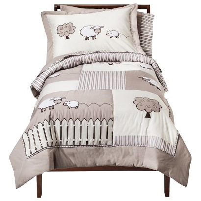 Sweet Jojo Designs 5pc Lamb Toddler Set