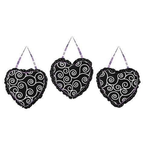 Sweet Jojo Designs Kaylee Wall Hangings